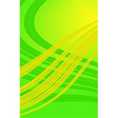 Abstract Green Yellow Background 5 5  X 8 5  Notebooks