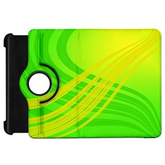Abstract Green Yellow Background Kindle Fire Hd 7