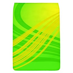 Abstract Green Yellow Background Flap Covers (s)