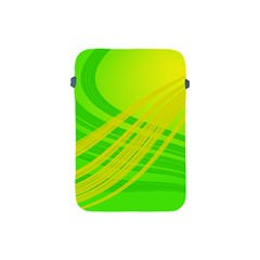Abstract Green Yellow Background Apple Ipad Mini Protective Soft Cases