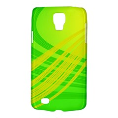 Abstract Green Yellow Background Galaxy S4 Active