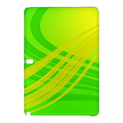 Abstract Green Yellow Background Samsung Galaxy Tab Pro 10 1 Hardshell Case