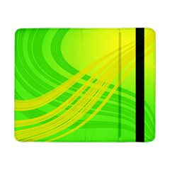Abstract Green Yellow Background Samsung Galaxy Tab Pro 8 4  Flip Case