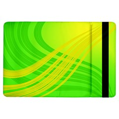 Abstract Green Yellow Background Ipad Air Flip