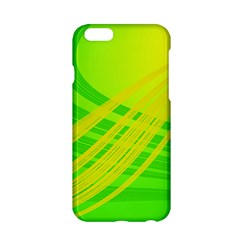 Abstract Green Yellow Background Apple Iphone 6/6s Hardshell Case