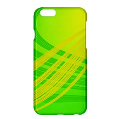 Abstract Green Yellow Background Apple Iphone 6 Plus/6s Plus Hardshell Case