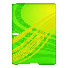 Abstract Green Yellow Background Samsung Galaxy Tab S (10 5 ) Hardshell Case