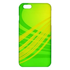Abstract Green Yellow Background iPhone 6 Plus/6S Plus TPU Case