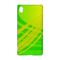 Abstract Green Yellow Background Sony Xperia Z3+