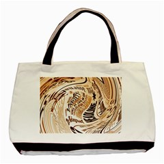 Abstract Newspaper Background Basic Tote Bag