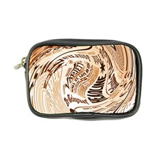Abstract Newspaper Background Coin Purse