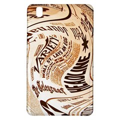 Abstract Newspaper Background Samsung Galaxy Tab Pro 8 4 Hardshell Case