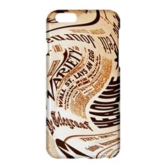 Abstract Newspaper Background Apple Iphone 6 Plus/6s Plus Hardshell Case