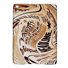 Abstract Newspaper Background Ipad Air 2 Hardshell Cases