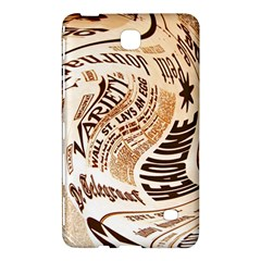 Abstract Newspaper Background Samsung Galaxy Tab 4 (7 ) Hardshell Case