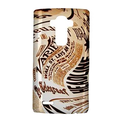 Abstract Newspaper Background Lg G4 Hardshell Case
