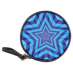 Abstract Starburst Blue Star Classic 20 Cd Wallets