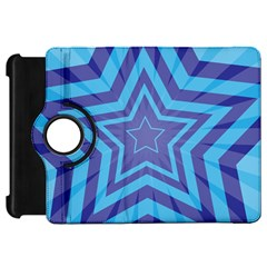 Abstract Starburst Blue Star Kindle Fire Hd 7