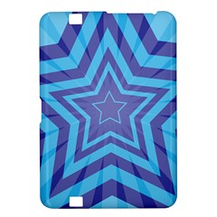 Abstract Starburst Blue Star Kindle Fire Hd 8 9