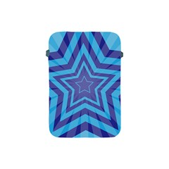Abstract Starburst Blue Star Apple Ipad Mini Protective Soft Cases