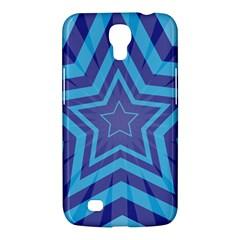 Abstract Starburst Blue Star Samsung Galaxy Mega 6 3  I9200 Hardshell Case
