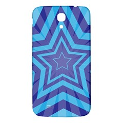 Abstract Starburst Blue Star Samsung Galaxy Mega I9200 Hardshell Back Case
