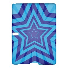 Abstract Starburst Blue Star Samsung Galaxy Tab S (10 5 ) Hardshell Case