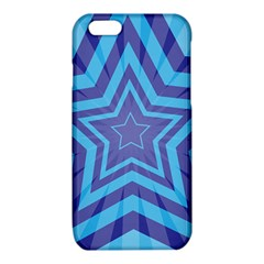 Abstract Starburst Blue Star iPhone 6/6S TPU Case