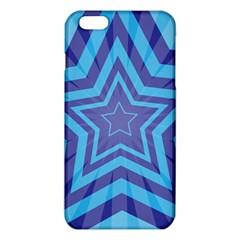 Abstract Starburst Blue Star iPhone 6 Plus/6S Plus TPU Case