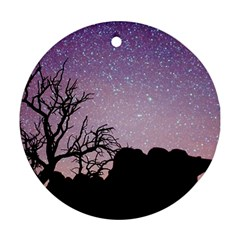 Arches National Park Night Ornament (round)