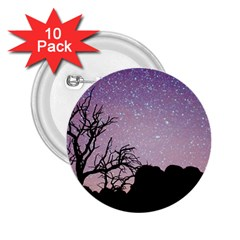 Arches National Park Night 2 25  Buttons (10 Pack)