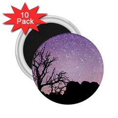 Arches National Park Night 2 25  Magnets (10 Pack)