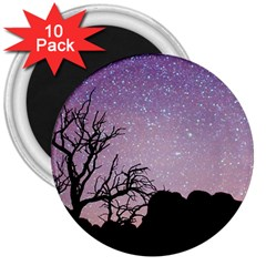 Arches National Park Night 3  Magnets (10 Pack)
