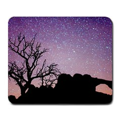 Arches National Park Night Large Mousepads