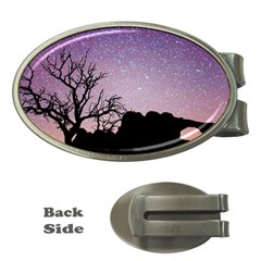Arches National Park Night Money Clips (oval)