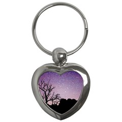 Arches National Park Night Key Chains (heart)