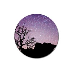 Arches National Park Night Magnet 3  (round)