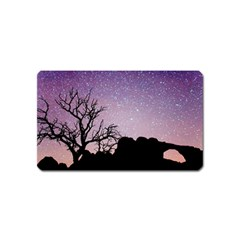 Arches National Park Night Magnet (name Card)