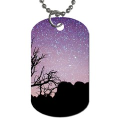Arches National Park Night Dog Tag (one Side)