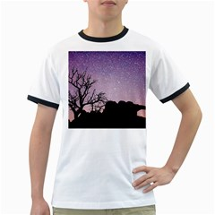 Arches National Park Night Ringer T Shirts