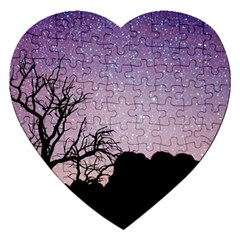Arches National Park Night Jigsaw Puzzle (Heart)