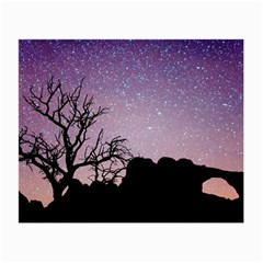 Arches National Park Night Small Glasses Cloth