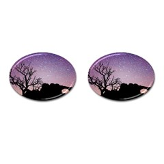 Arches National Park Night Cufflinks (oval)