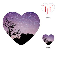 Arches National Park Night Playing Cards (heart)