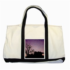 Arches National Park Night Two Tone Tote Bag