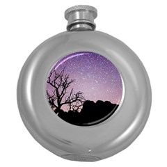 Arches National Park Night Round Hip Flask (5 Oz)