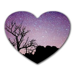 Arches National Park Night Heart Mousepads