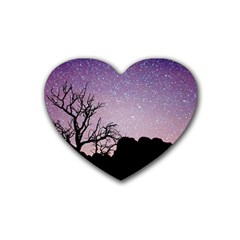 Arches National Park Night Heart Coaster (4 Pack)
