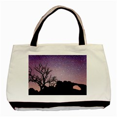 Arches National Park Night Basic Tote Bag (Two Sides)