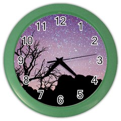 Arches National Park Night Color Wall Clocks